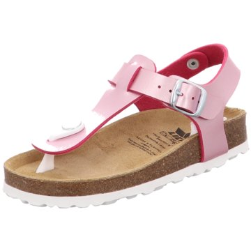Geka Offene Schuhe rosa