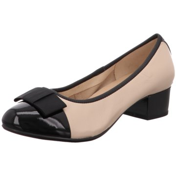 Caprice Flacher Pumps beige