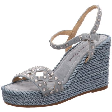 Alma en Pena High Heels blau