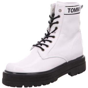 Tommy Hilfiger Stiefelette weiß
