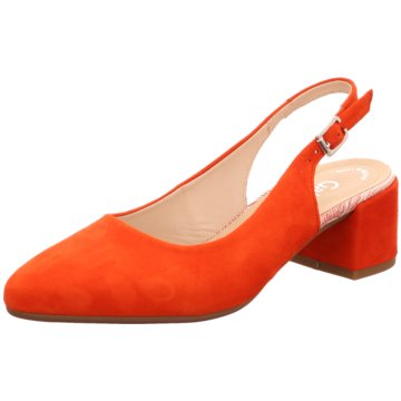 Gabor Slingpumps orange