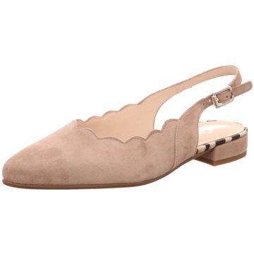 Gabor comfort Sling BallerinaSlingback beige