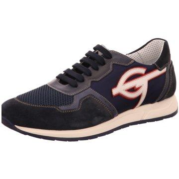 GALIZIO TORRESI Sportlicher Schnürschuh blau