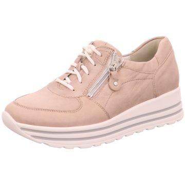 Waldläufer Plateau Sneaker rosa