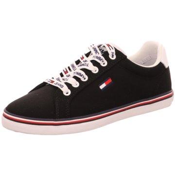 Tommy Hilfiger Sportlicher SchnürschuhEssential Lace Up Sneaker schwarz