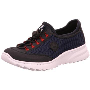 Rieker Sportlicher SlipperSneaker blau