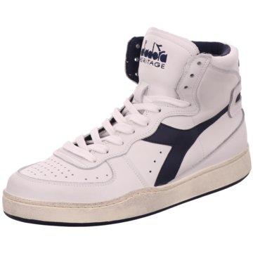 Diadora Sneaker High weiß