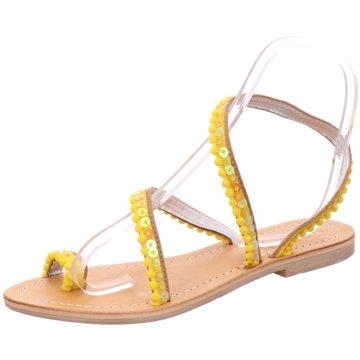 Bali-Bali Top Trends Sandaletten gelb