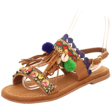 Lazamani Sandale bunt