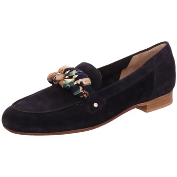 Donna Carolina Klassischer Slipper blau