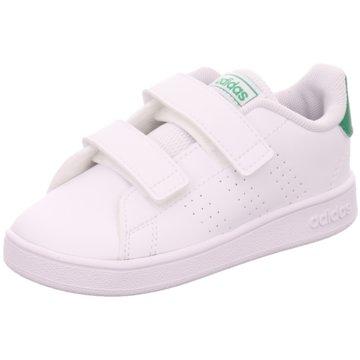adidas Kleinkinder MädchenADVANTAGE I - EF0301 weiß