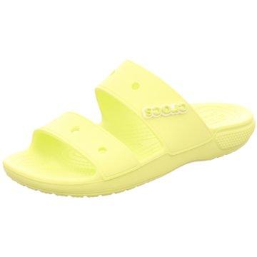 CROCS Badelatsche gelb