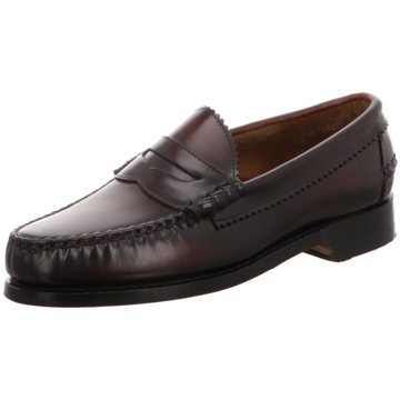 Allen Edmonds Business Mokassin rot