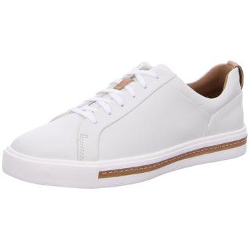 Clarks Sneaker LowUn Maui Lace weiß