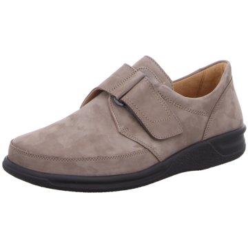 Ganter Komfort Slipper grau