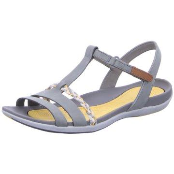 Clarks Komfort Sandale grau