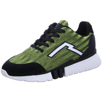 Red Rag Sneaker Low grün