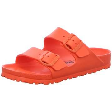 Birkenstock Badelatsche orange