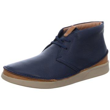 Clarks Komfort Stiefel blau