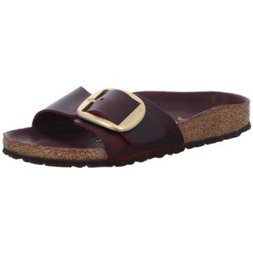 Birkenstock Klassische PantoletteMadrid Big Buckle[Sandals] rot