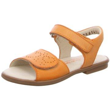 Däumling Offene Schuhe orange