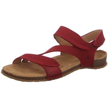El Naturalista Komfort Sandale rot