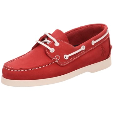 Sommerkind Bootsschuh rot
