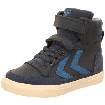 Hummel Halbhoher Stiefel blau
