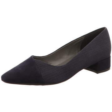 Peter Kaiser Flacher Pumps blau