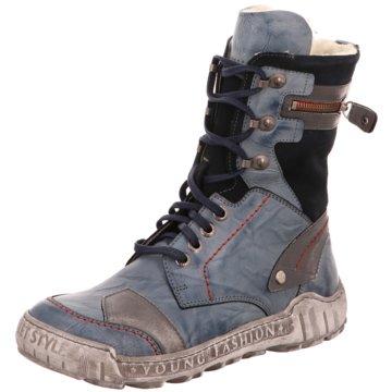KRISBUT Komfort Stiefel blau