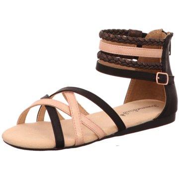 Sommerkind Offene Schuhe schwarz