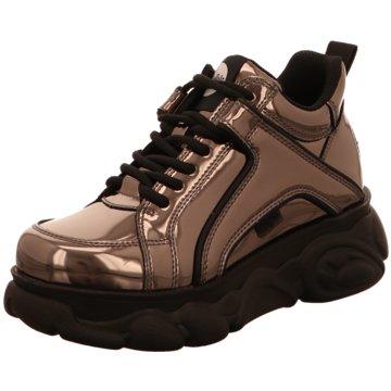 Buffalo Plateau Sneaker grau