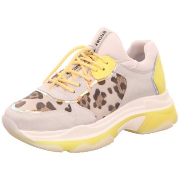 Bronx Plateau Sneaker grau