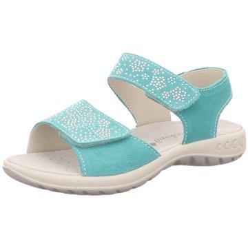 Sommerkind Offene Schuhe grün