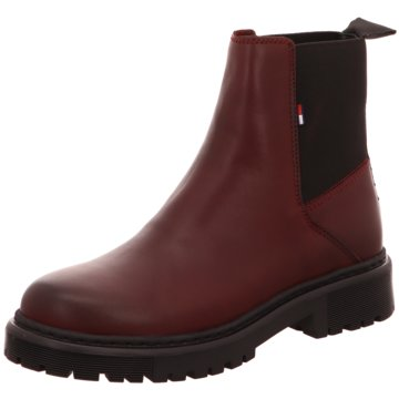 Tommy Hilfiger Stiefelette rot