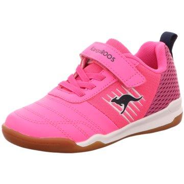 KangaROOS Hallenschuhe pink