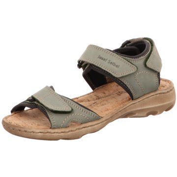 Josef Seibel Komfort Sandale grün