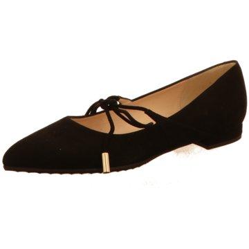 Moda di Fausto Eleganter Ballerina schwarz