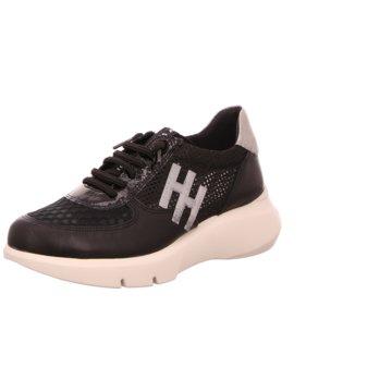 Hispanitas Sneaker Low schwarz