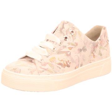 Semler Plateau Sneaker weiß