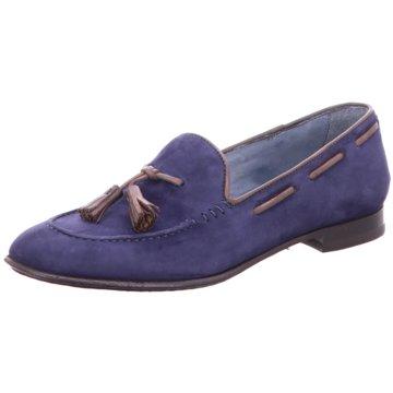 Brecos Klassischer Slipper blau