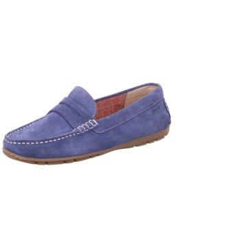 Sioux Mokassin SlipperCarmona-700 blau