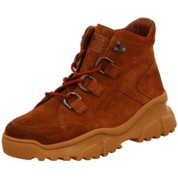 A.S.98 Top Trends Sneaker braun