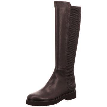 Moda di Fausto Klassischer Stiefel schwarz