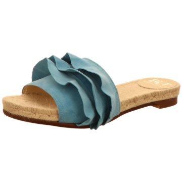 BLT BALTARINI Klassische Pantolette blau