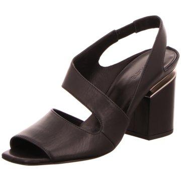 Vic Matié Komfort Sandale schwarz