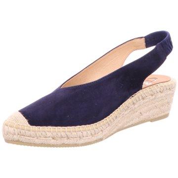 Capiccio Espadrilles Sandalen blau