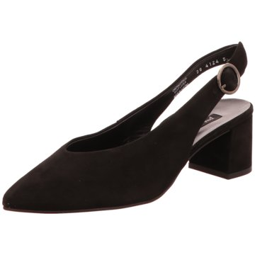 Paul Green Slingpumps7503 schwarz