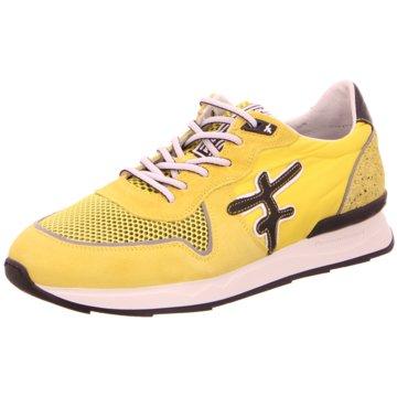 Floris van Bommel Sneaker Low gelb
