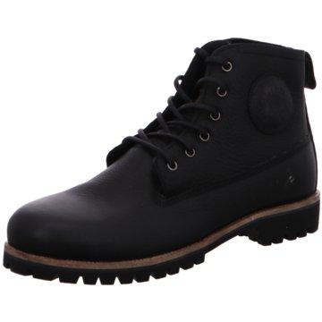 Blackstone SchnürbootLace Up Boot schwarz